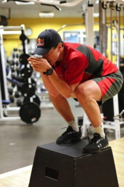 Fitness training at La Source