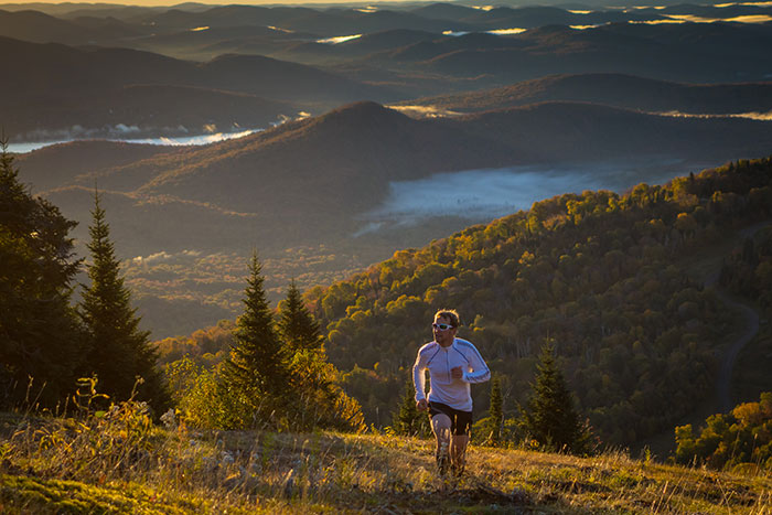 In Tremblant, every reason is a good reason to climb up the mountain. And the view is always incredible!