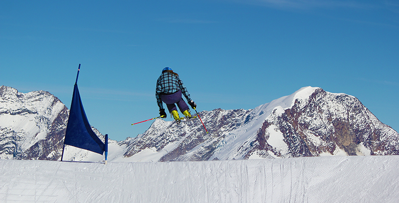 Brittany ski cross