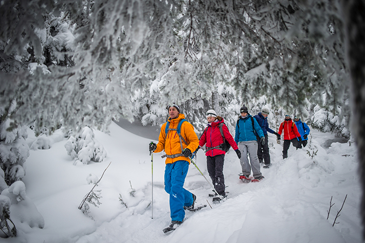 Snowshoe and Fondue Tour