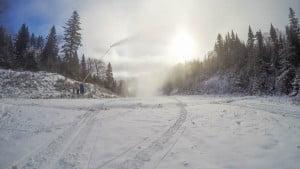Canon à neige Tremblant