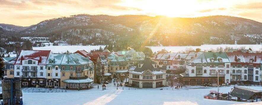 hiver village tremblant